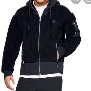 Under Armour men's be seen Sherpa shacket